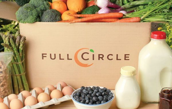 Get produce delivered with Full Circle Farms