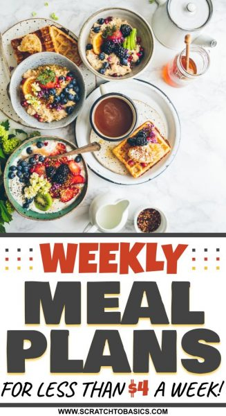 weekly meal planning services for beginners