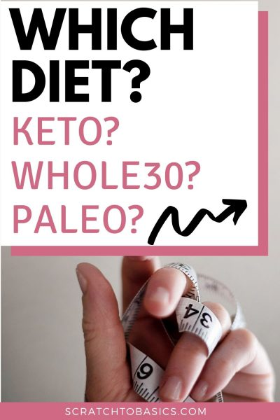 Which diet is right for you? Keto, whole30 or paleo?