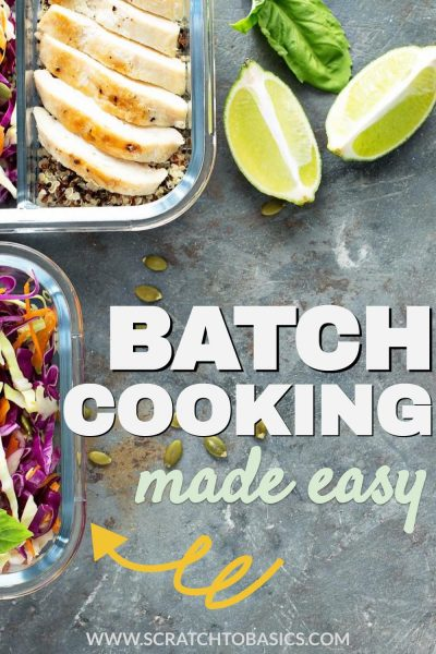 Batch cooking made easy