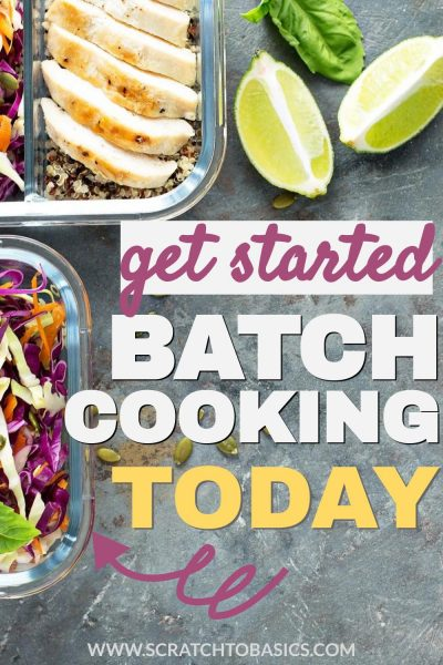 Get started batch cooking today