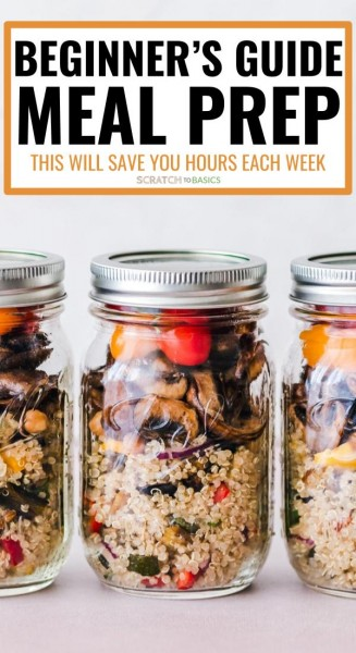 The Beginners guide to meal prep that will save you hours each week.