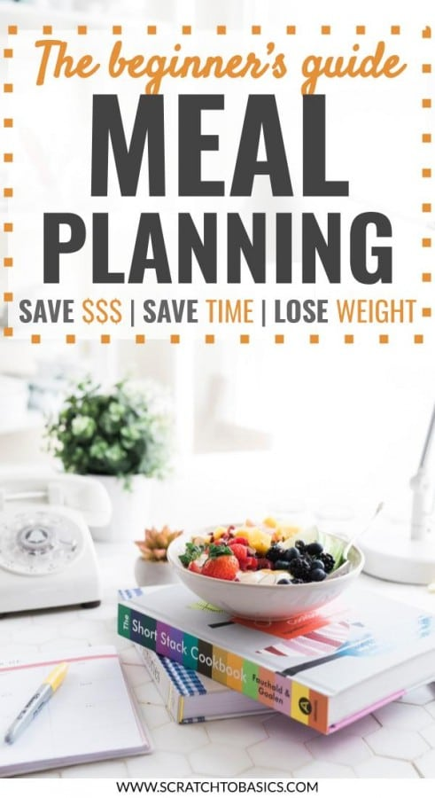 Beginner's guide to Meal Planning. Save money, save time, lose weight.