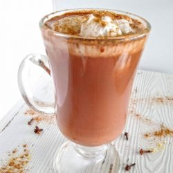 Chai Spice Hot Chocolate With A Healthy Protein Boost