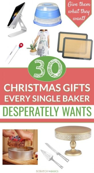 30 Christmas gifts for someone who loves to bake
