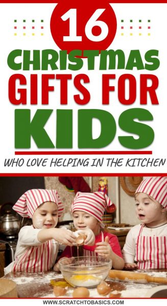 Christmas gifts for kids who like to help cook