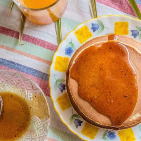 Cinnamon Paleo Pancakes