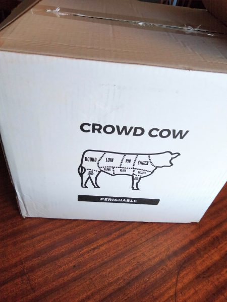 The box with my Crowd Cow order