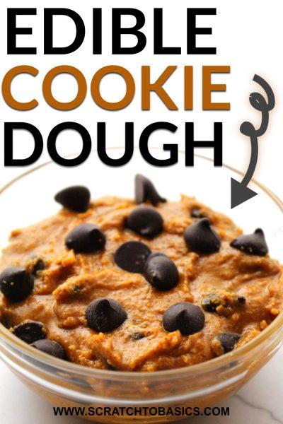 Edible Paleo cookie dough