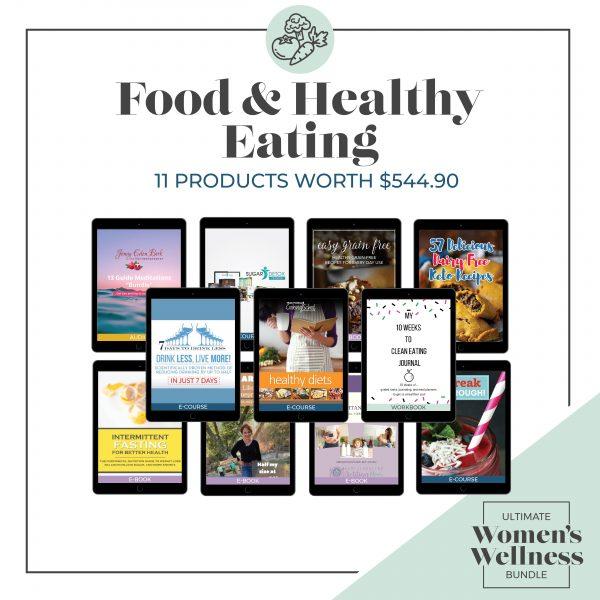 Women's Wellness Bundle - food & eating healthy image