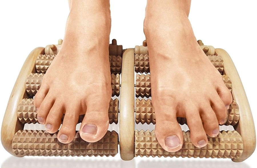 Foot massager - wooden