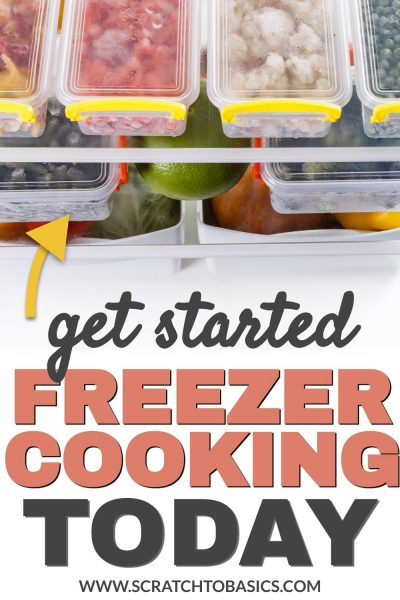 get started freezer cooking today