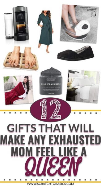 Gifts that will make an exhausted mom feel like a queen