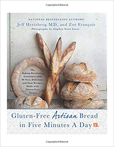 gluten free artisan bread cookbook