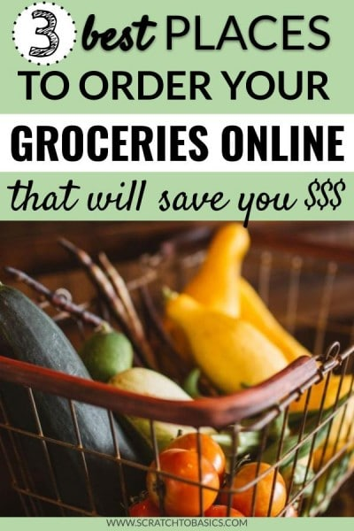 Online grocery options to save you money.