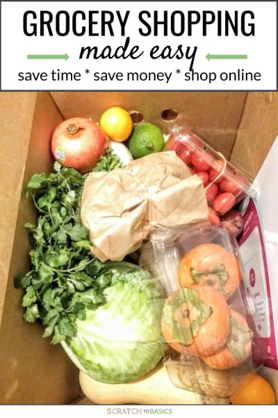 Grocery shopping made easy. Save time, save money, shop online with these three recommended websites.