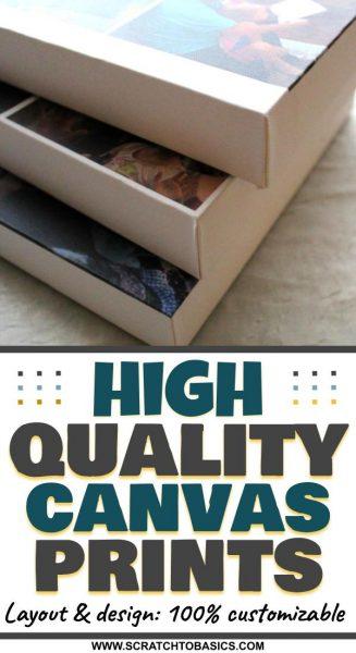 High quality canvas prints