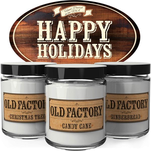 Holiday scented candles for your favorite teacher.