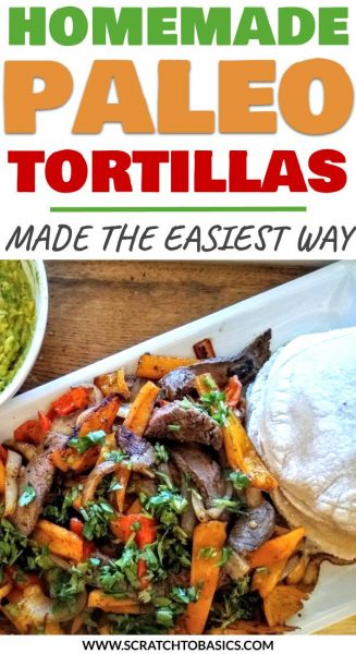 homemade Paleo tortillas made the easy way