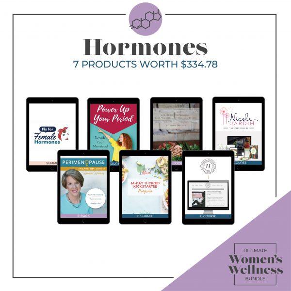 Women's Wellness Bundle - hormones image
