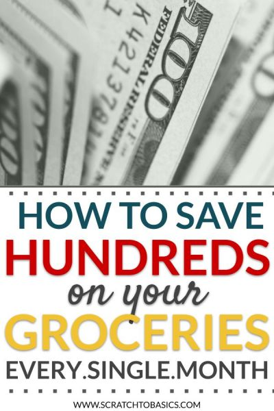 How to save hundreds on your groceries every single month