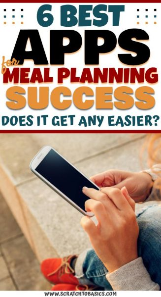 Meal planning apps