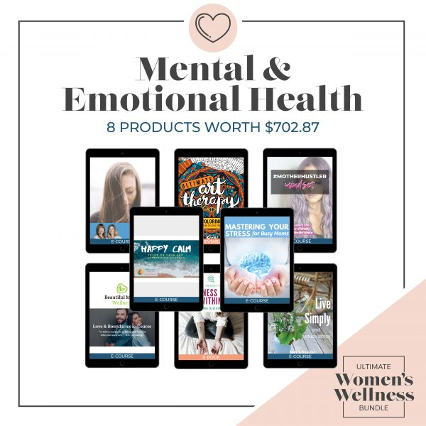 Women's Wellness Bundle - Mental & emotional health immage