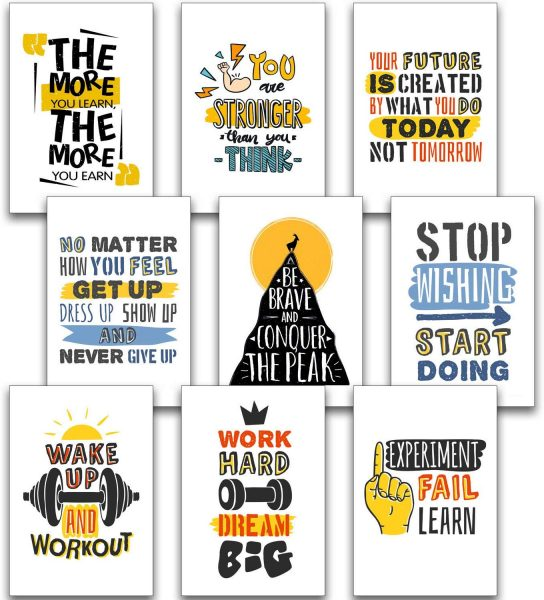Motivational posters to hang in the classroom