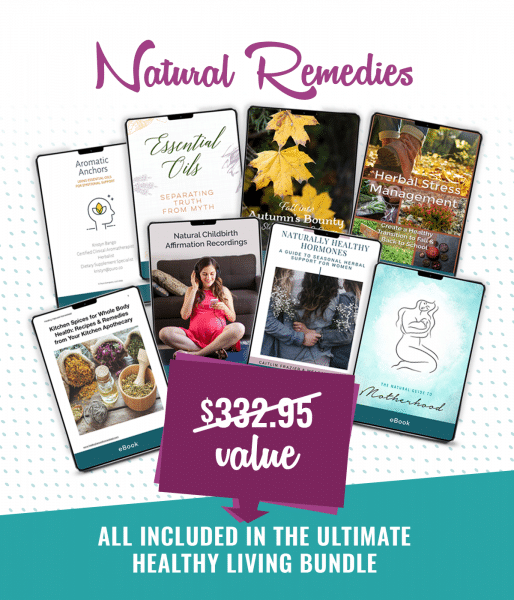 Image of natural remedies products in the bundle