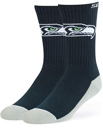 A cozy teacher gift of NFL socks