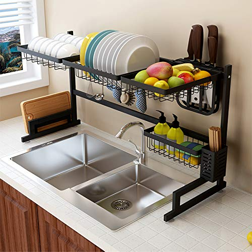 Use this dish rack to keep your kitchen counters clear from clutter
