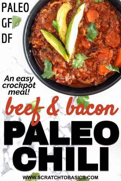 Paleo bean free chili