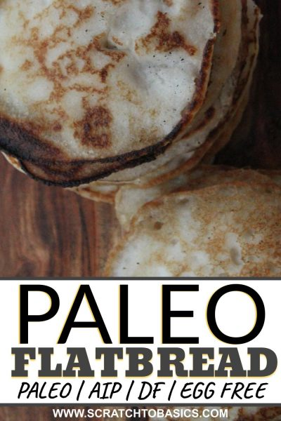 Paleo flatbread in minutes