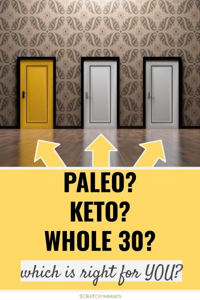 Paleo vs keto vs whole 30. Which is right for you?
