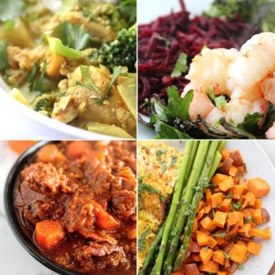 Two Week Paleo Meal Plan With Grocery List And Recipes