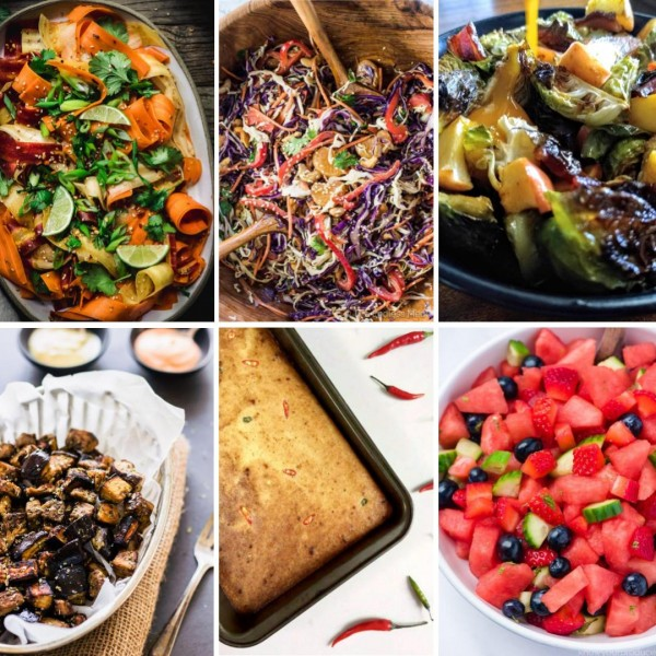 gluten free and paleo potluck dishes