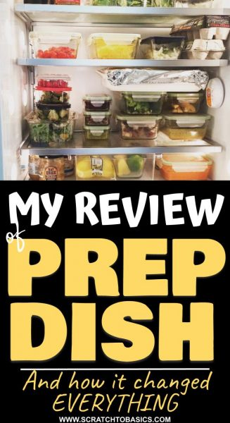 My review of prep dish and how it changed everything