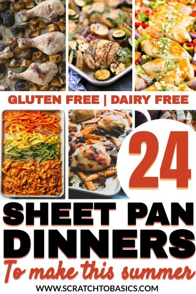 24 sheet pan dinners for summer