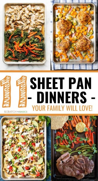 11 sheet pan dinners your family will love