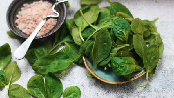 you can freeze spinach