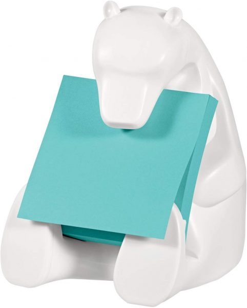 Bear sticky note holder makes a great teacher gift.