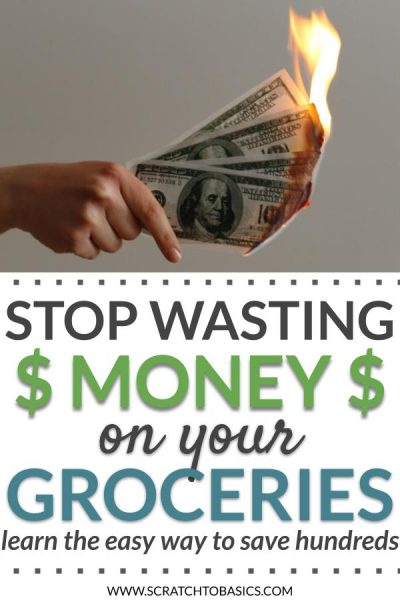 Stop wasting money on your groceries& learn the easy way to save hundreds
