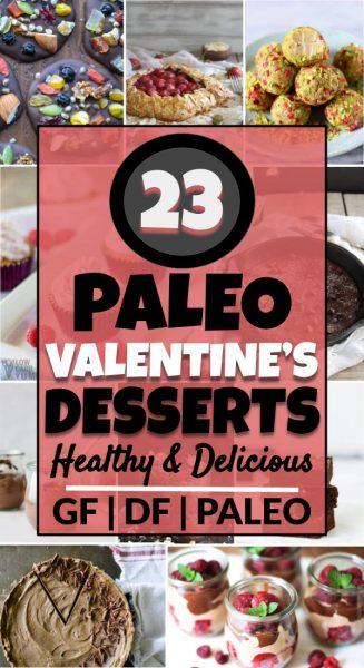 Paleo Valentine's Desserts