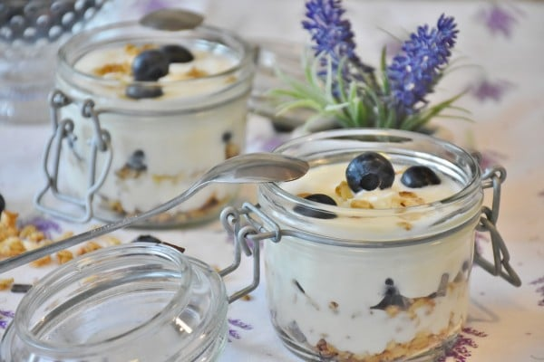Yogurt is a fermented food and has beneficial bacteria to help your gut.